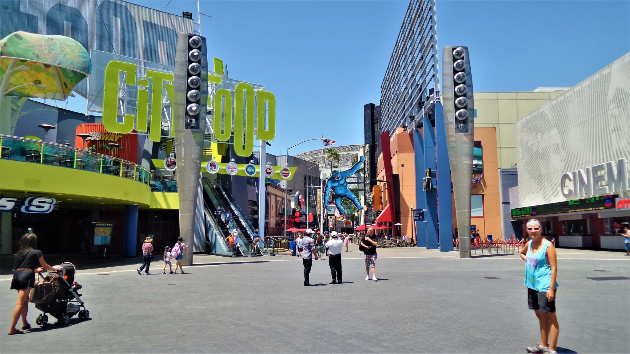 Universal City Walk, Universal Studios Hollywood