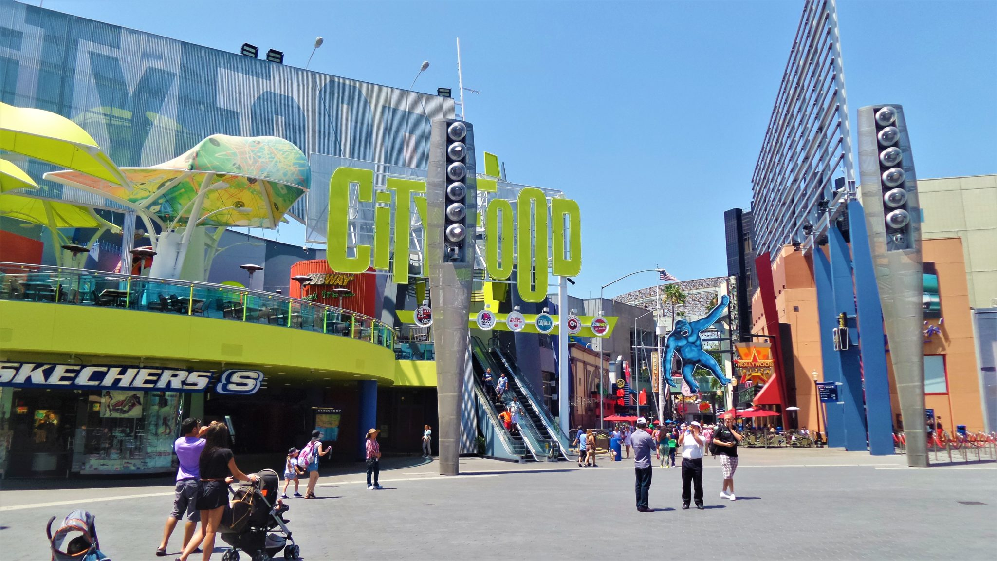 Universal City Walk, universal studios, things to do in los angeles