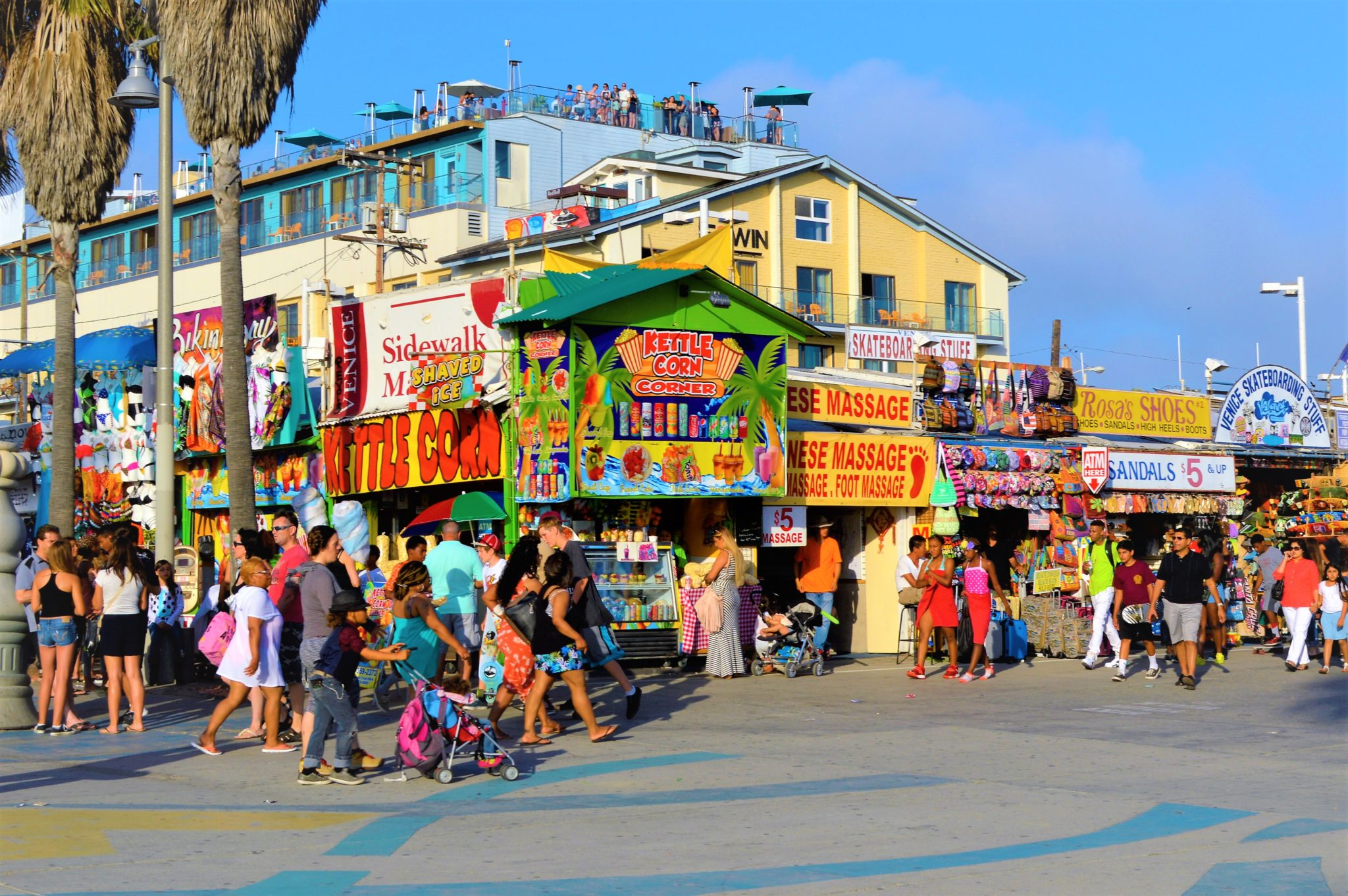 Venice beach shops, top things to do in los angeles, California