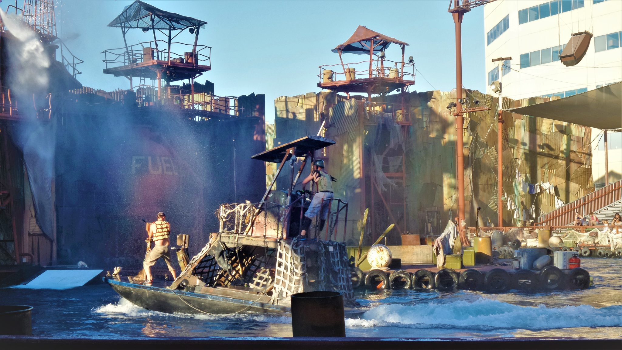 Waterworld jet ski, Universal Studios Hollywood