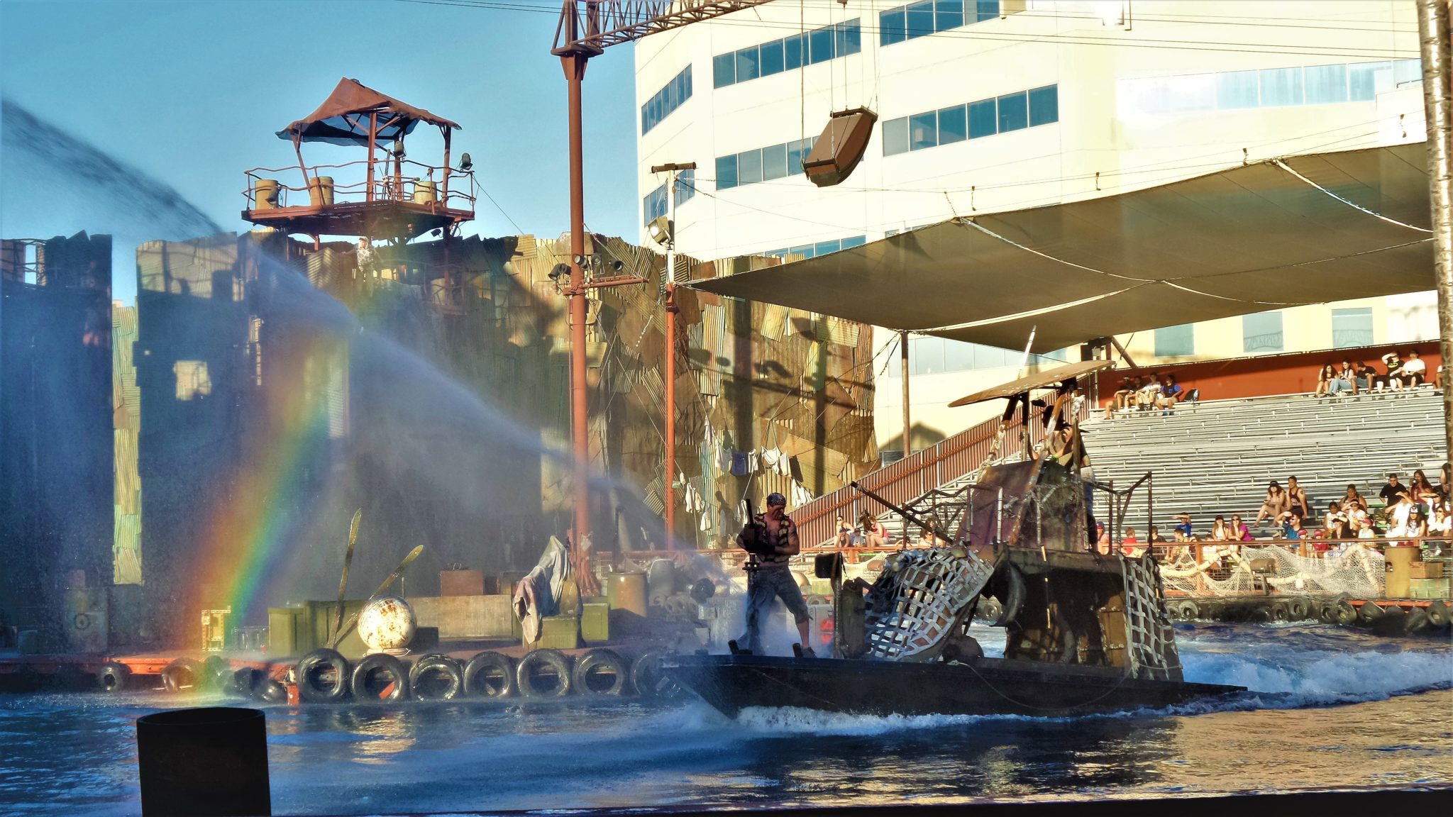Waterworld show, Universal Studios Hollywood