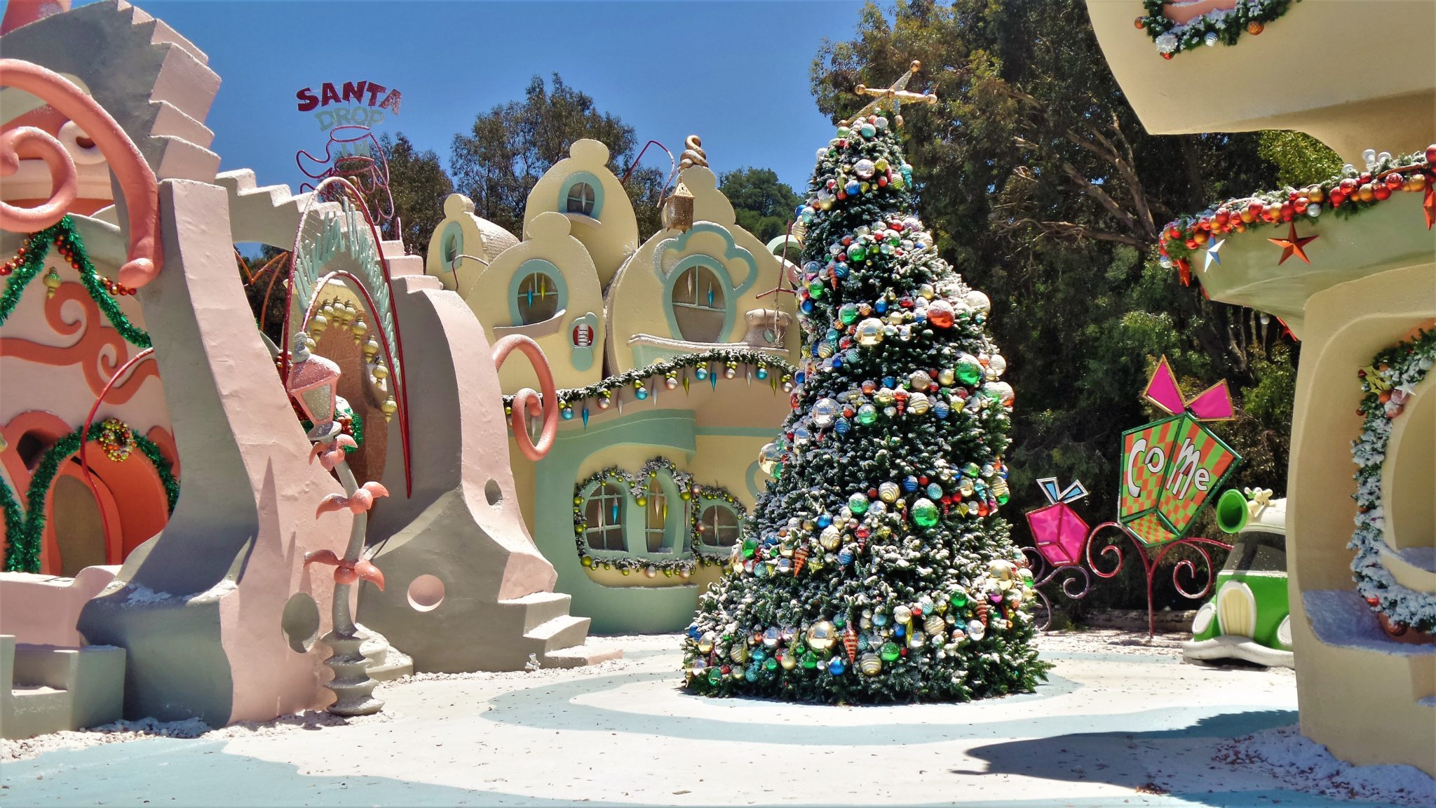 Whoville from the Grinch, Universal Studios Hollywood Studio Tour