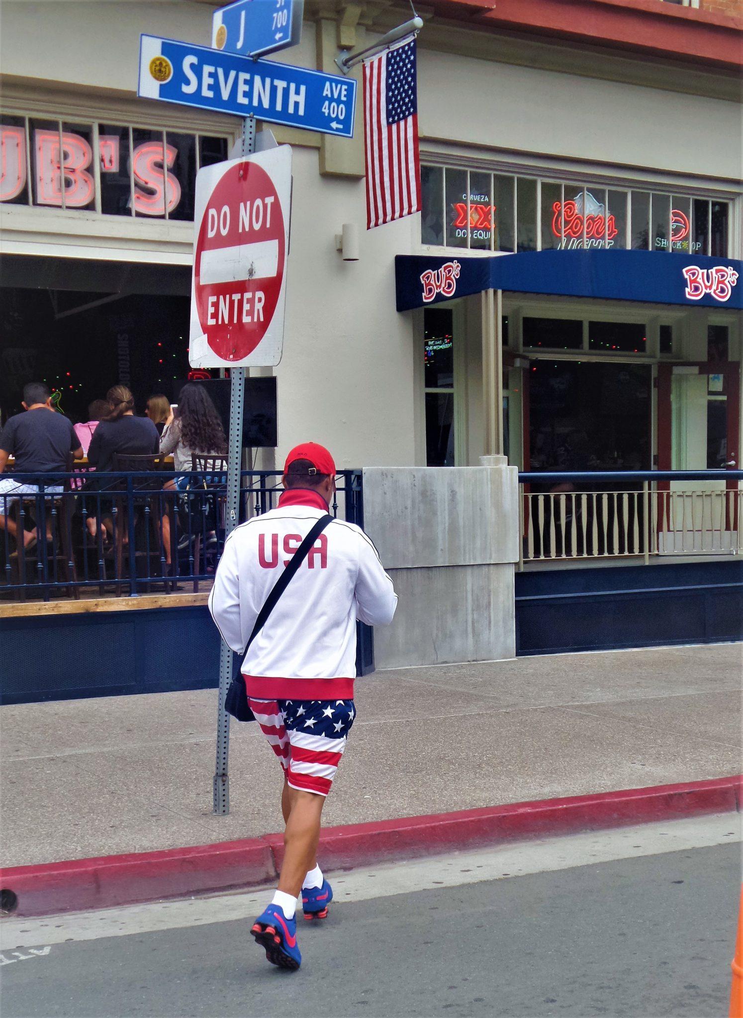 4th july costume, big bay boom san diego, california
