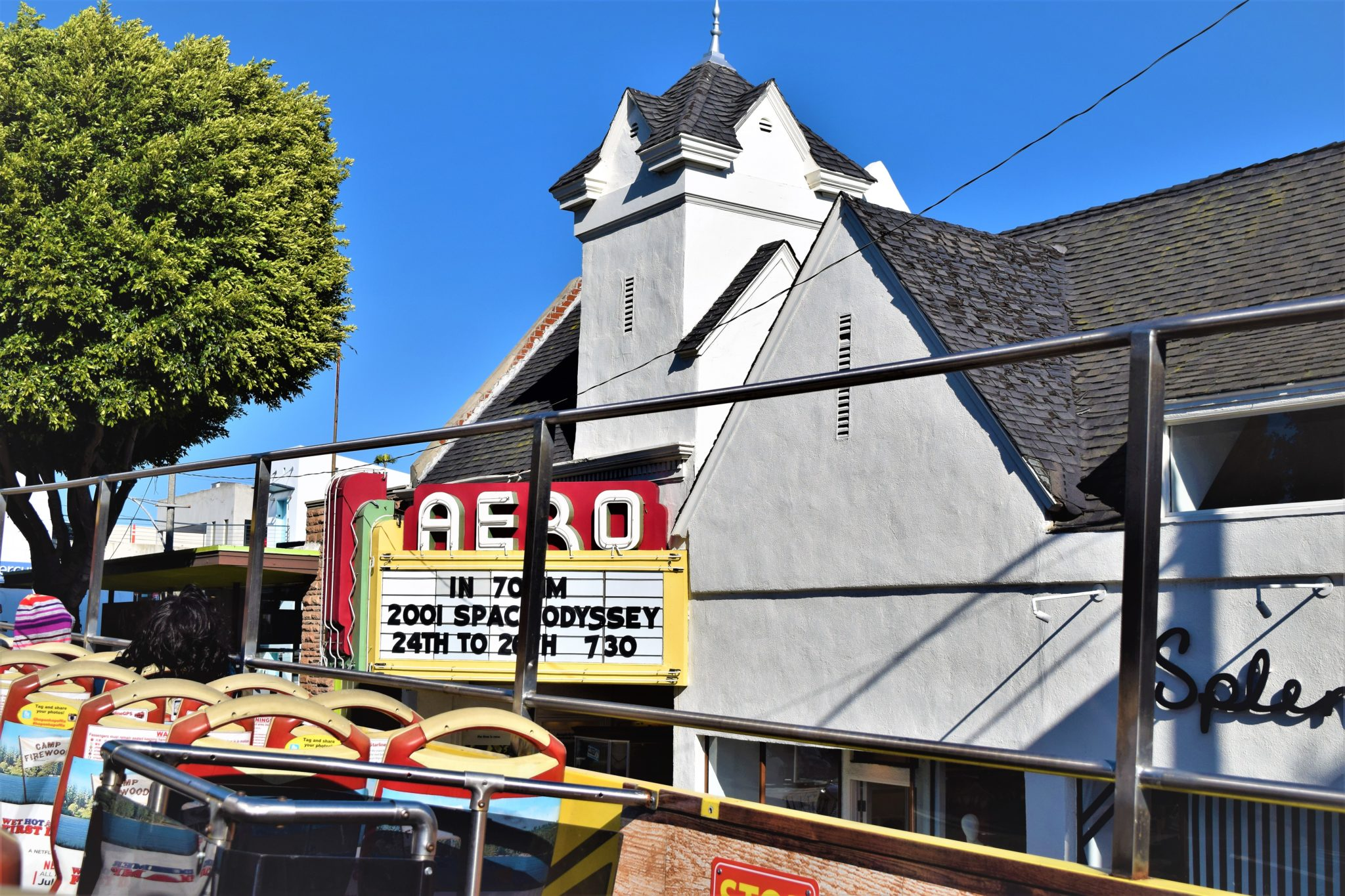 Aero theater, hop on hop off los angeles sites