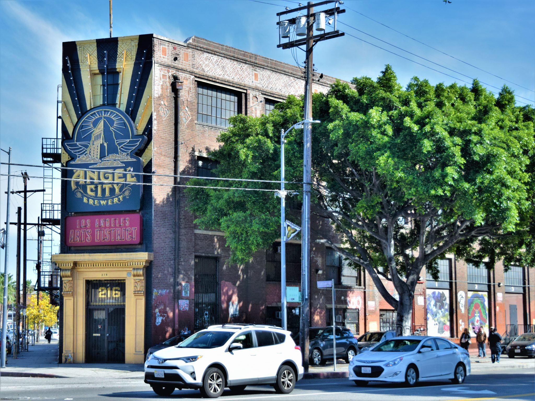 Angel City Brewery, los angeles, california