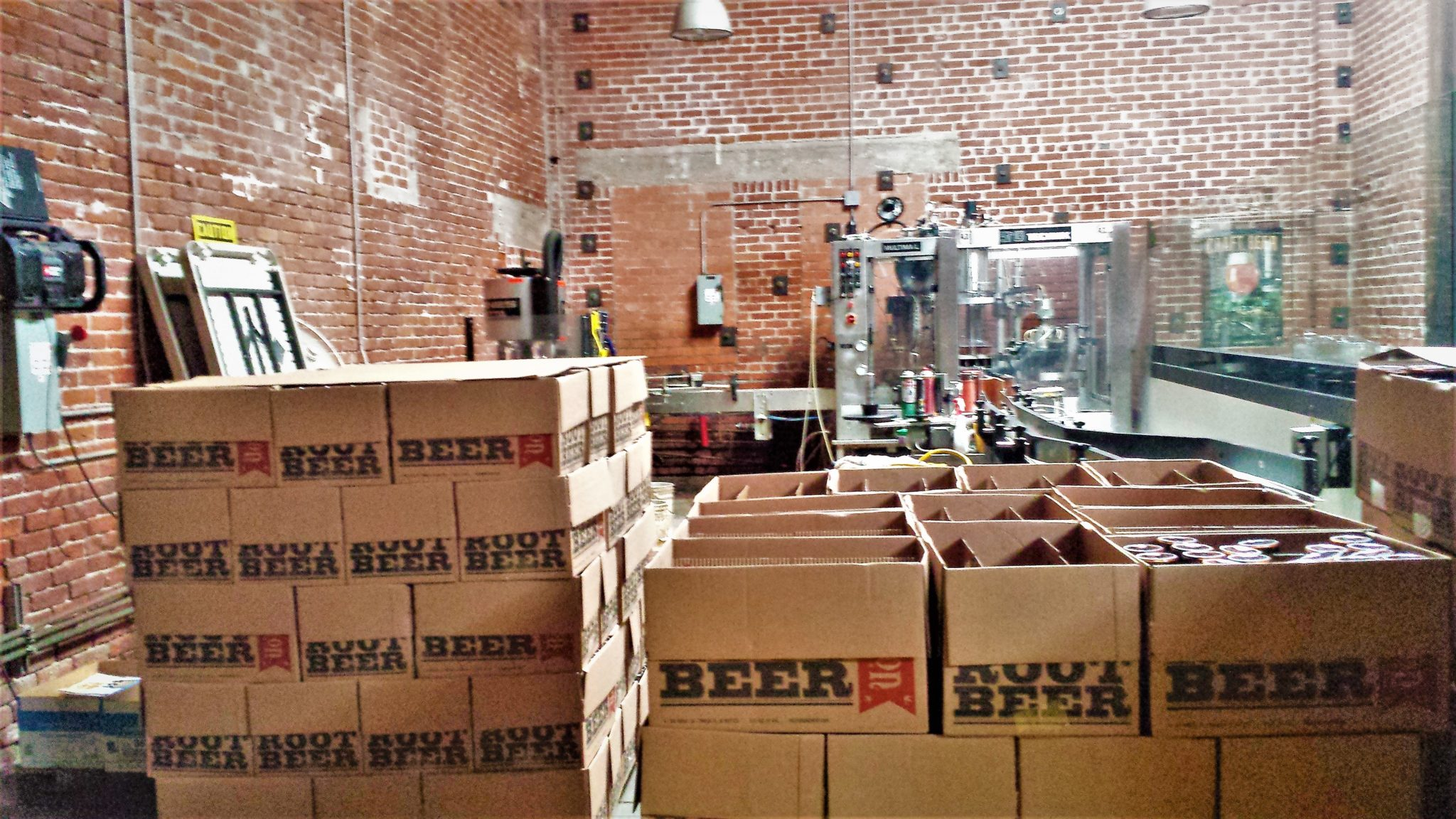 Beer crates, Mission Brewery Tour, things to do in San Diego, California