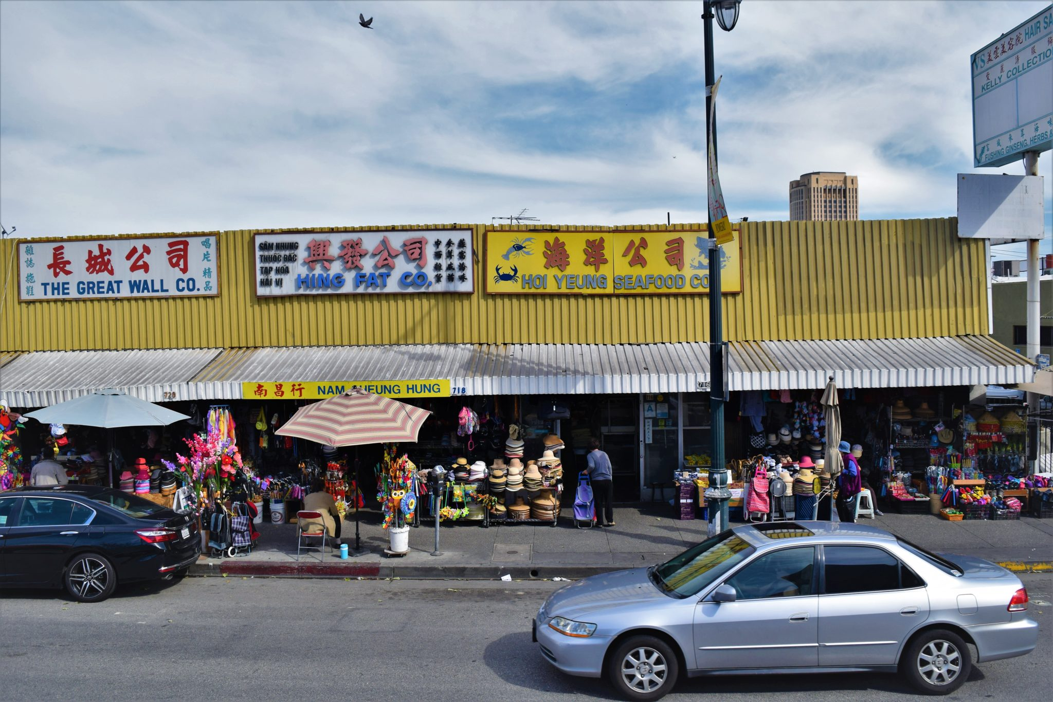 Chinatwon shops los angeles, hop on hop off bus our