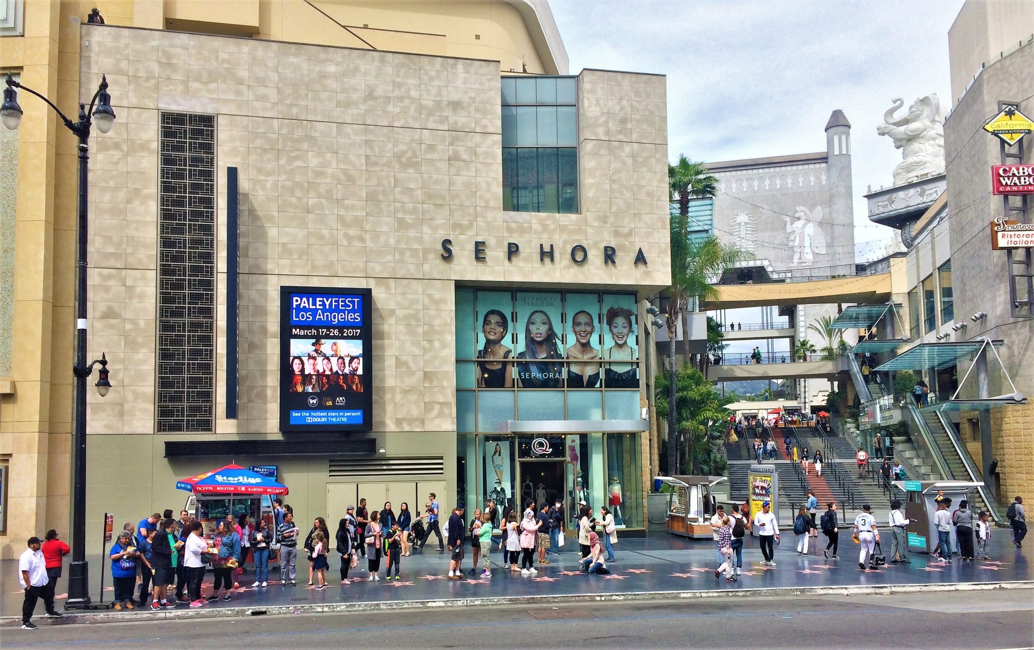 Hollywood Boulevard, Walk of Fame, daytime, things to do in los angeles