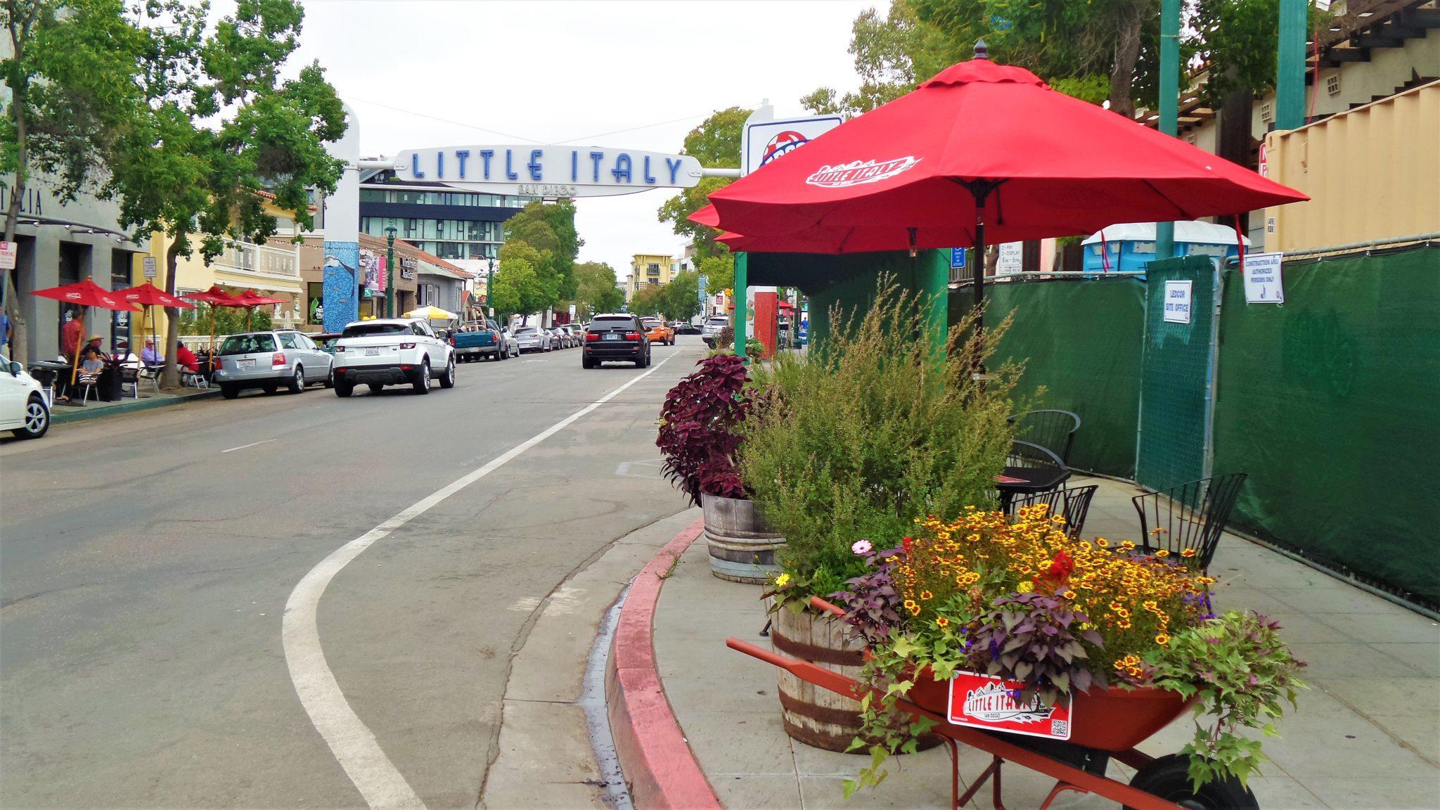 Little Italy area, San Diego, California