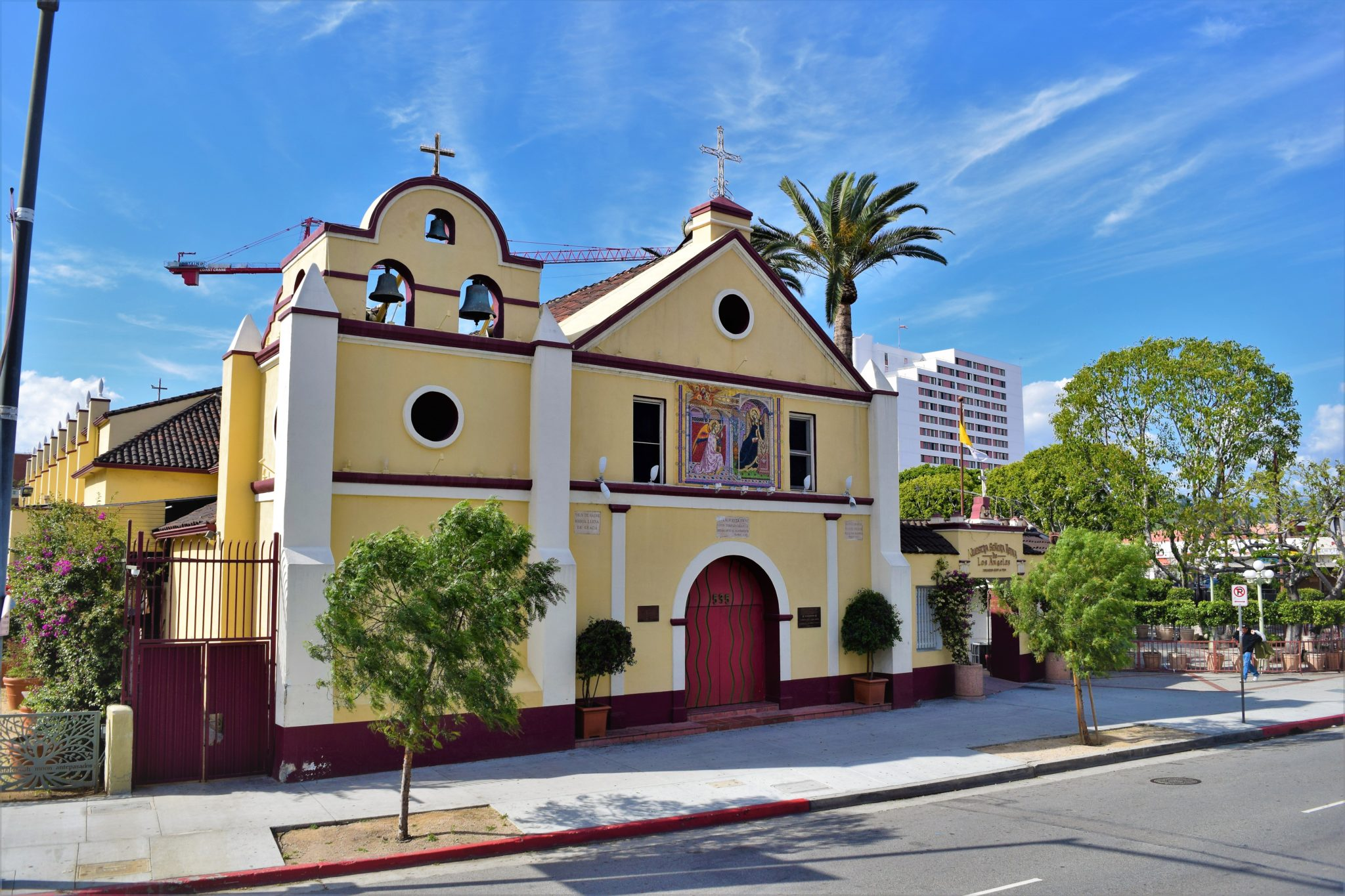 Little mexico, downtown los angeles, hop on hop off bus tour