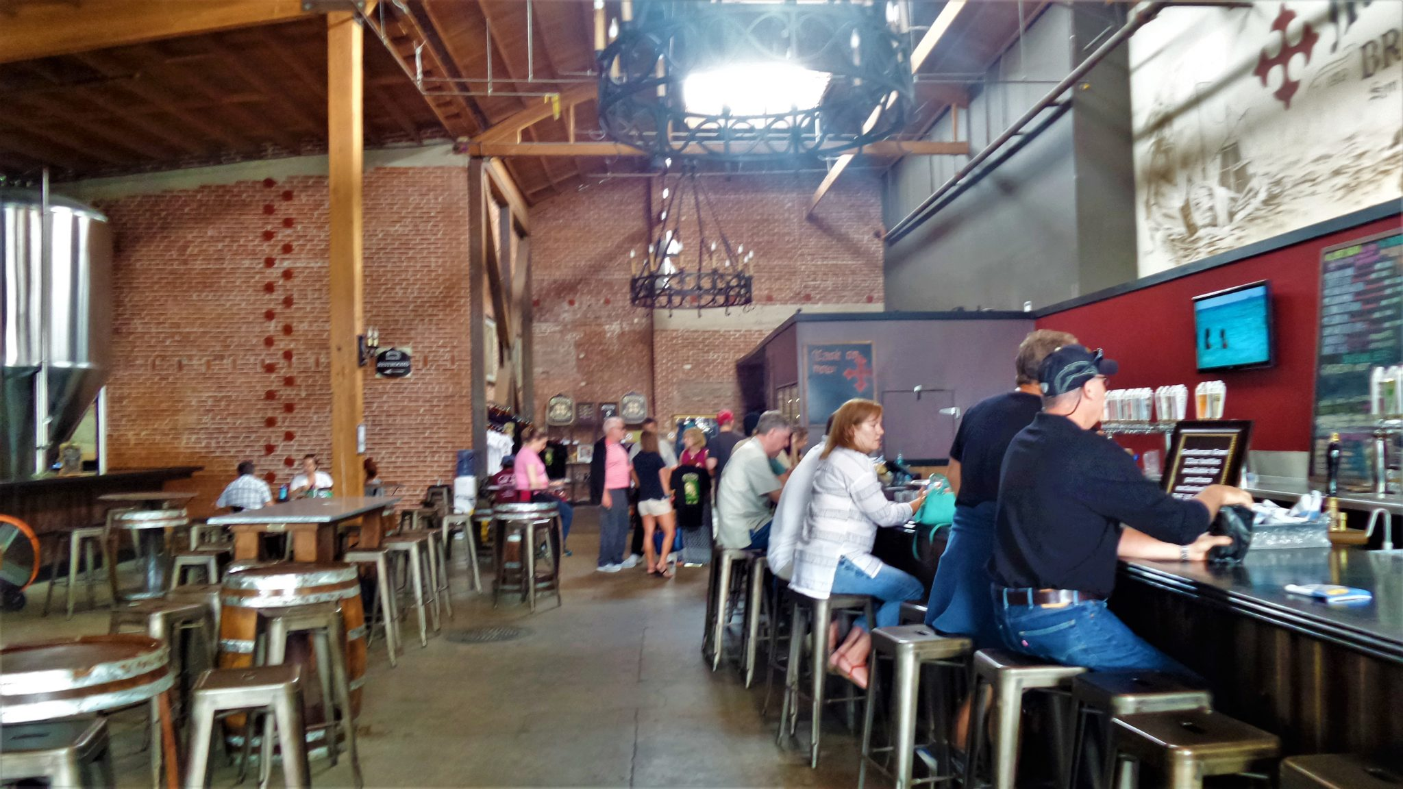Mission Brewery bar, things to do in San Diego, California