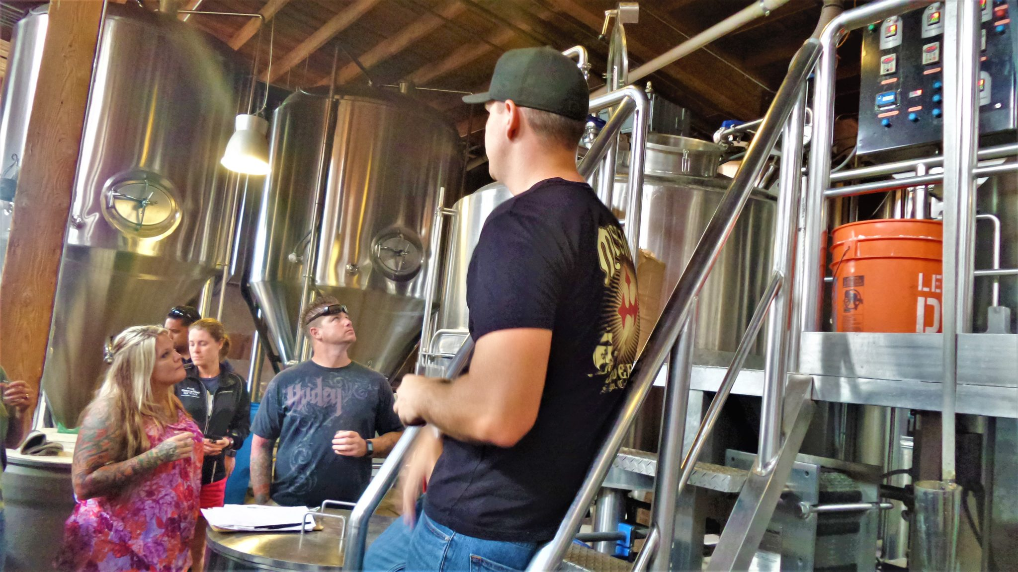 Mission Brewry visitor tour, things to do in San Diego, California