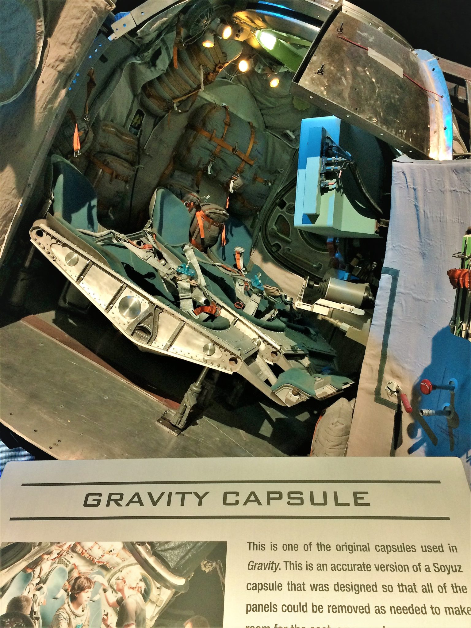 Original Gravity Capsule, Warner Brothers Studios, Things to do in los angeles
