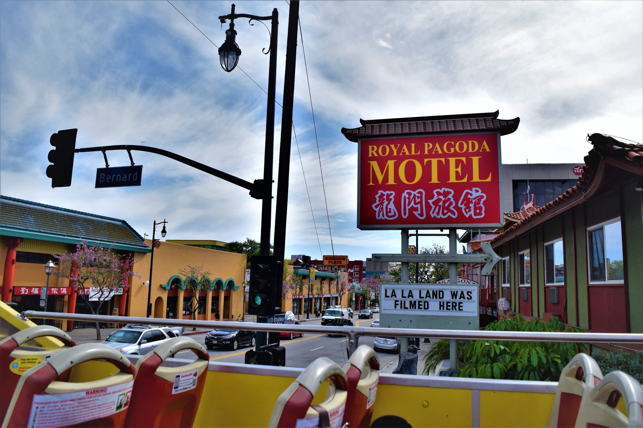 Royal Pagoda Motel, chinatown, hop on hop off bus los angeles