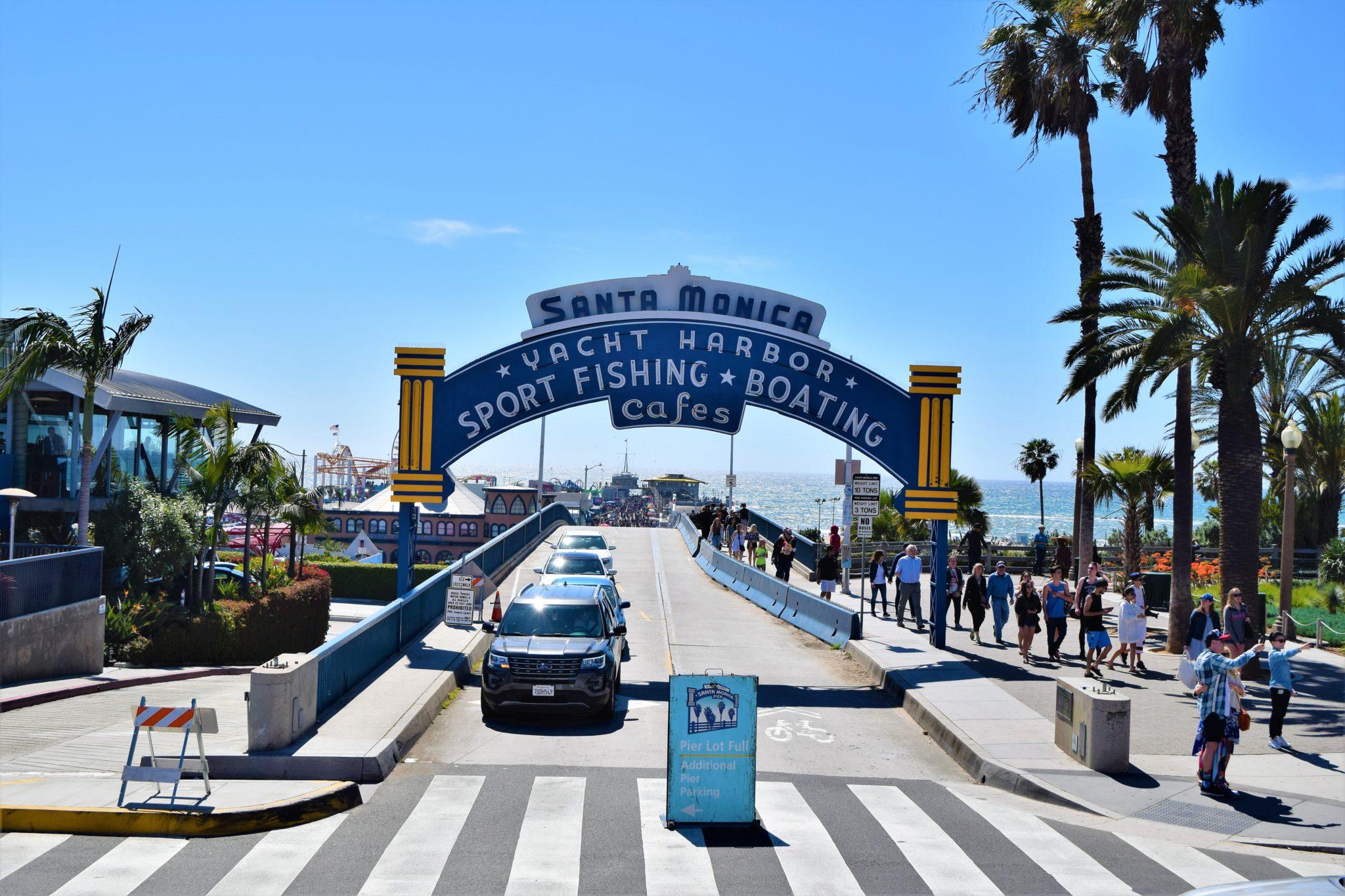 Los Angeles Santa Monica Beach Bus Best On The World 2017