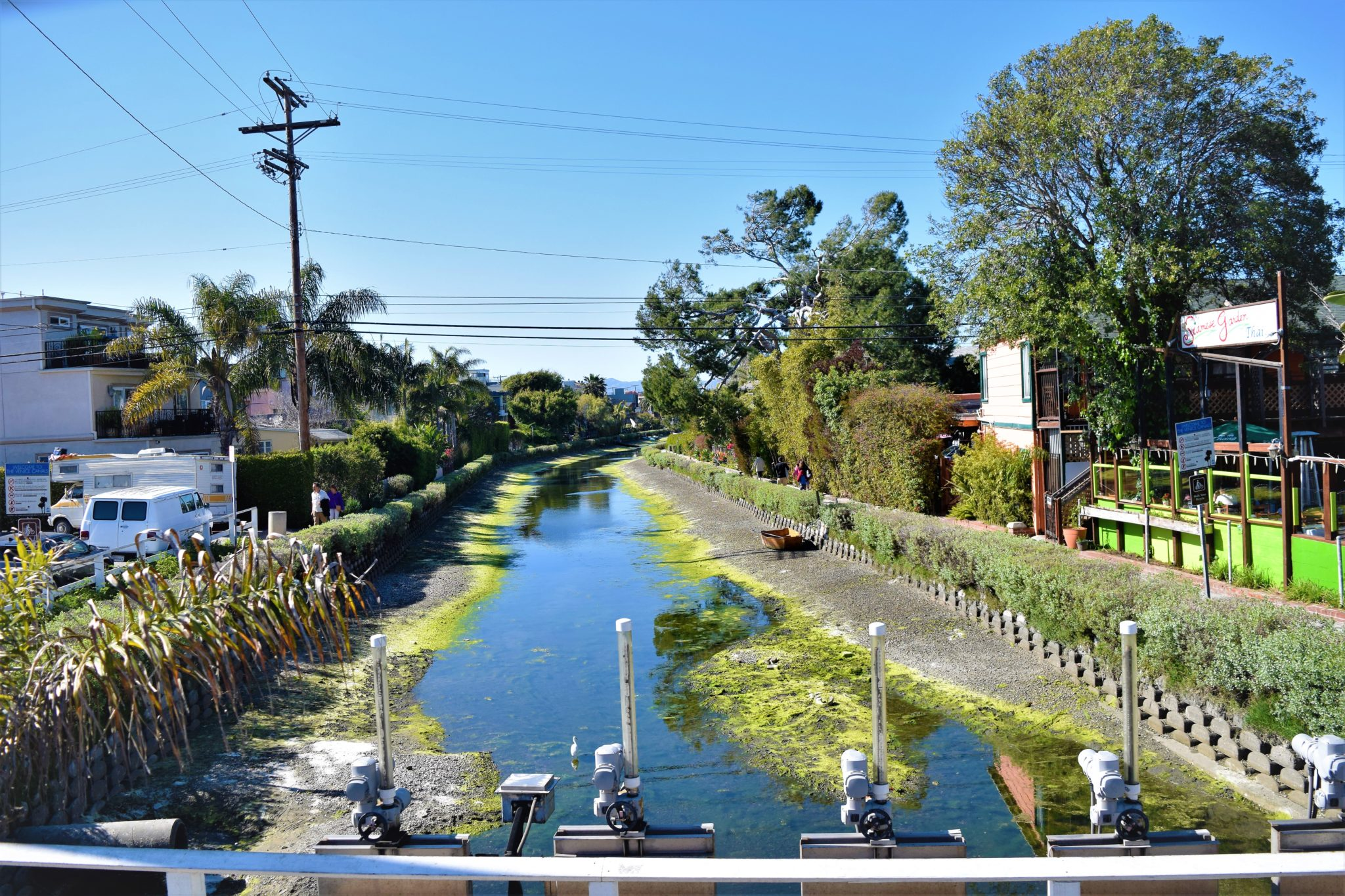 Venice canals, hop on hop off bus los angeles