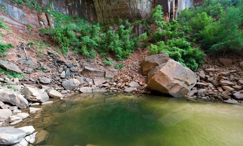 Zion Emerald Pools Trail, Utah