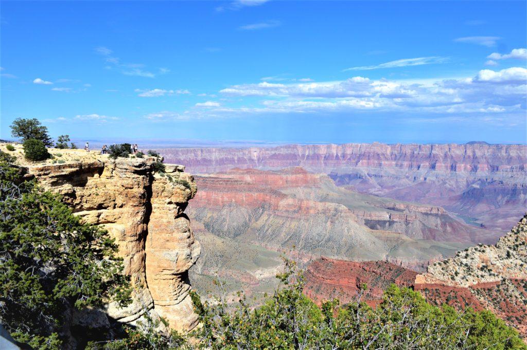 Angel's window people, Grand Canyon North Rim