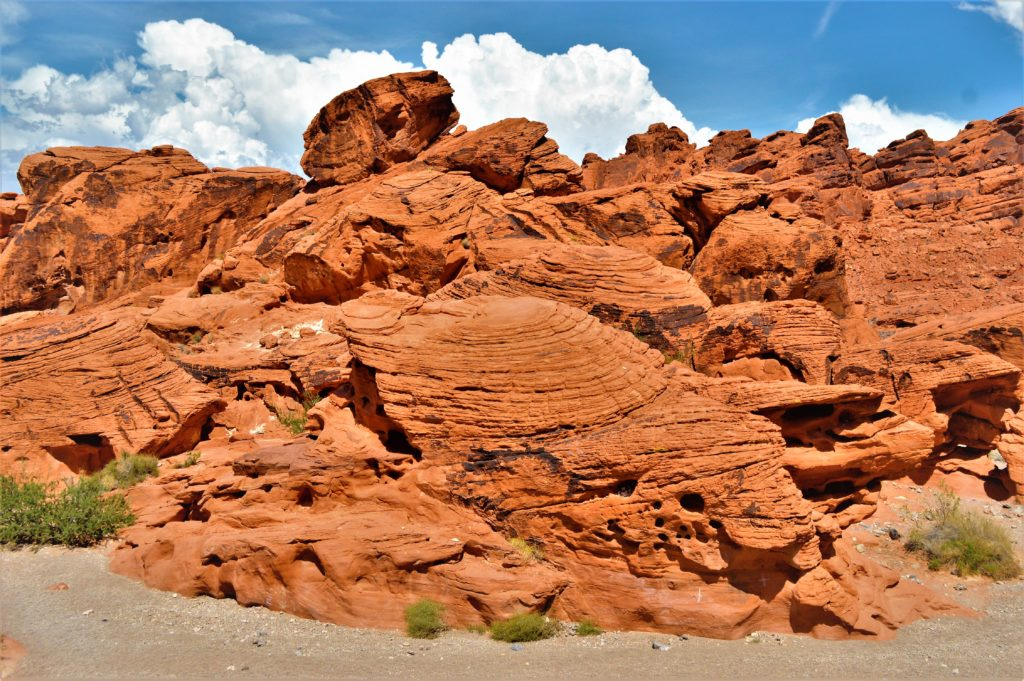 Beehive rocks, valley of fire state park