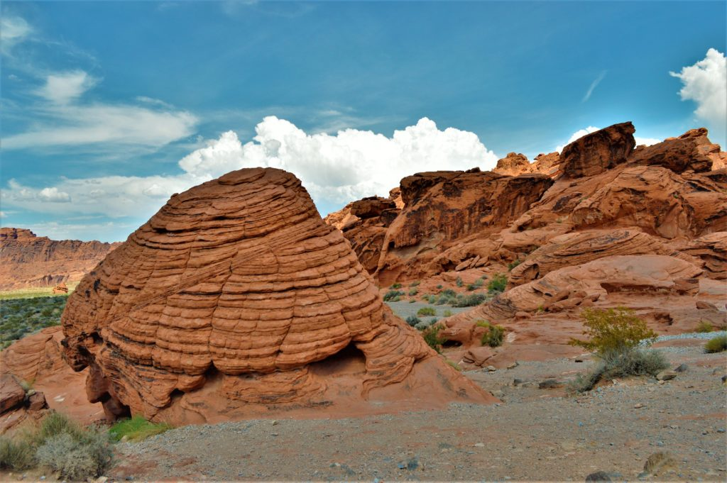 Beehives, the valley of fire state park, road trip, usa