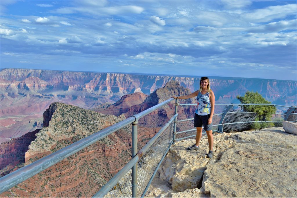 Best view point grand canyon north rim national park