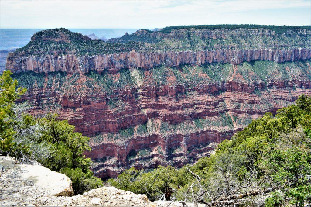 Cliff edges, Grand Canyon North Rim National Park grand canyon trip