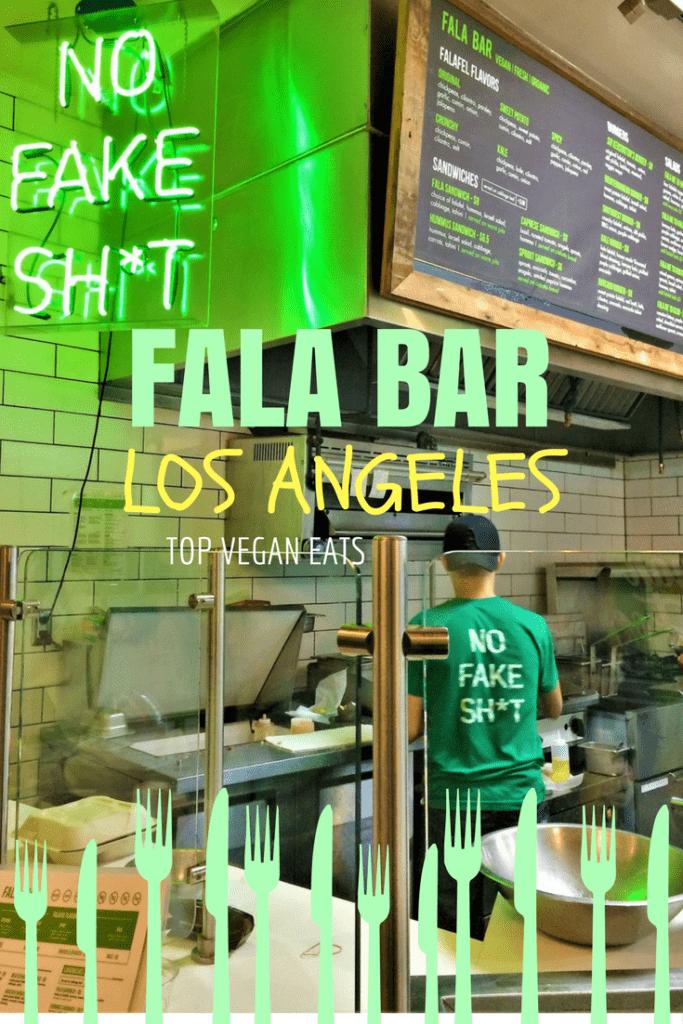 Fala Bar Los Angeles, top vegan restaurants