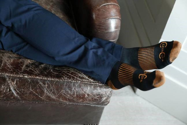 Flight Accessories Copper Compression Socks