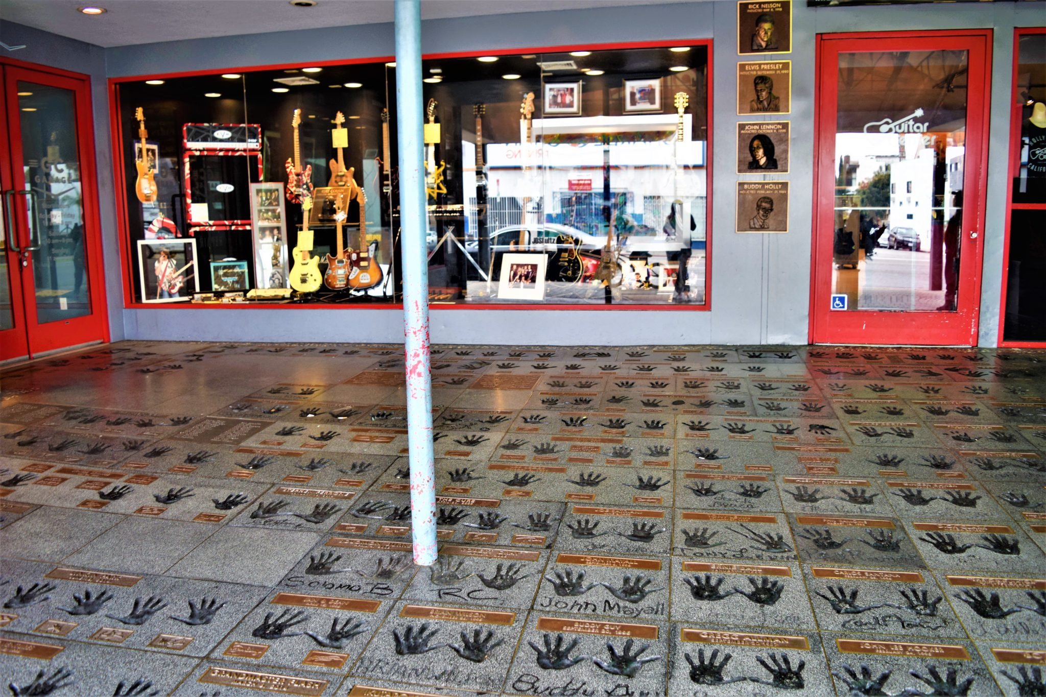 Guitar Center Rock Walk, free things to do in los angeles, california