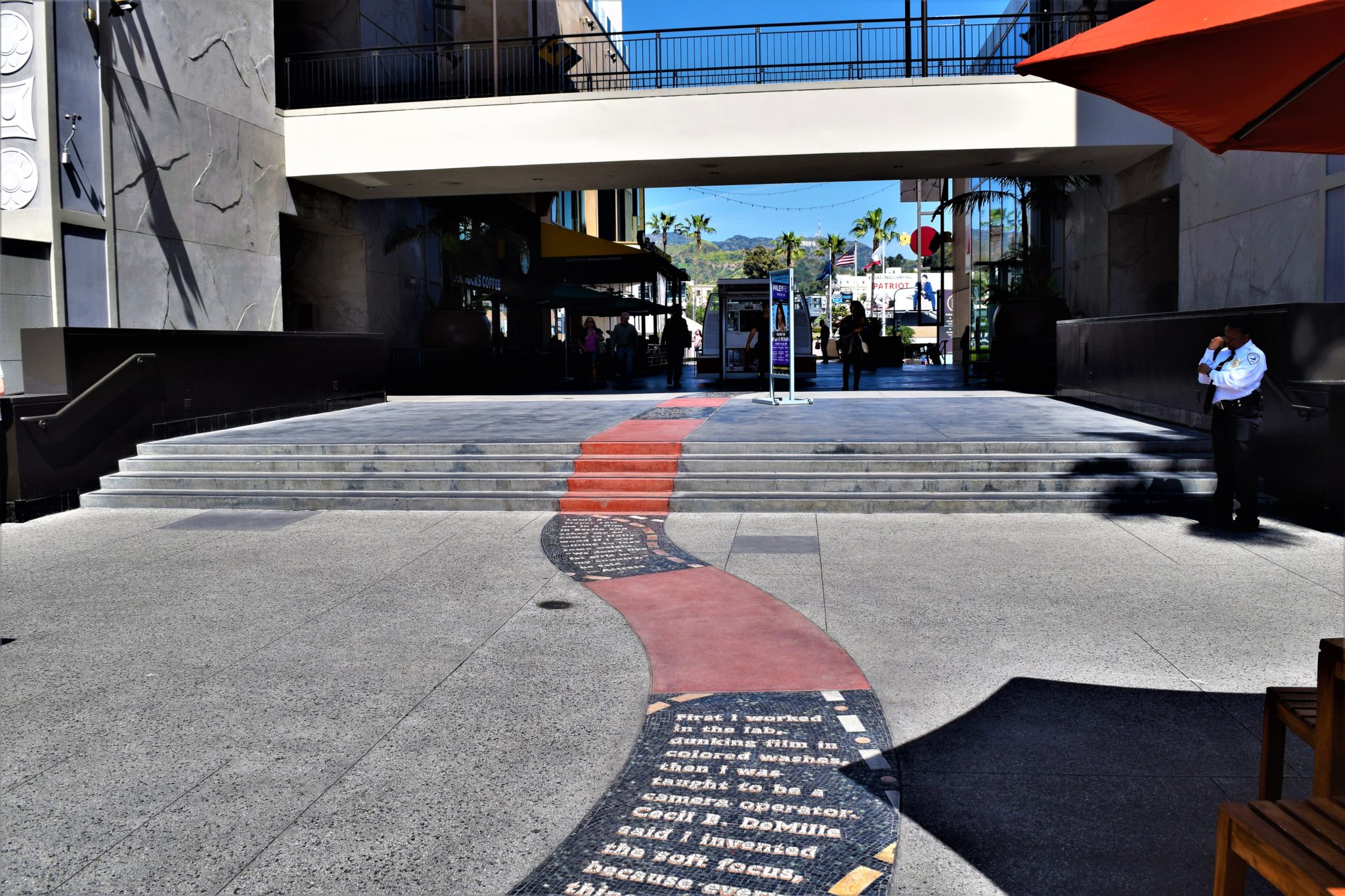 Hollywood and highland center, Road to hollywood path, los angeles