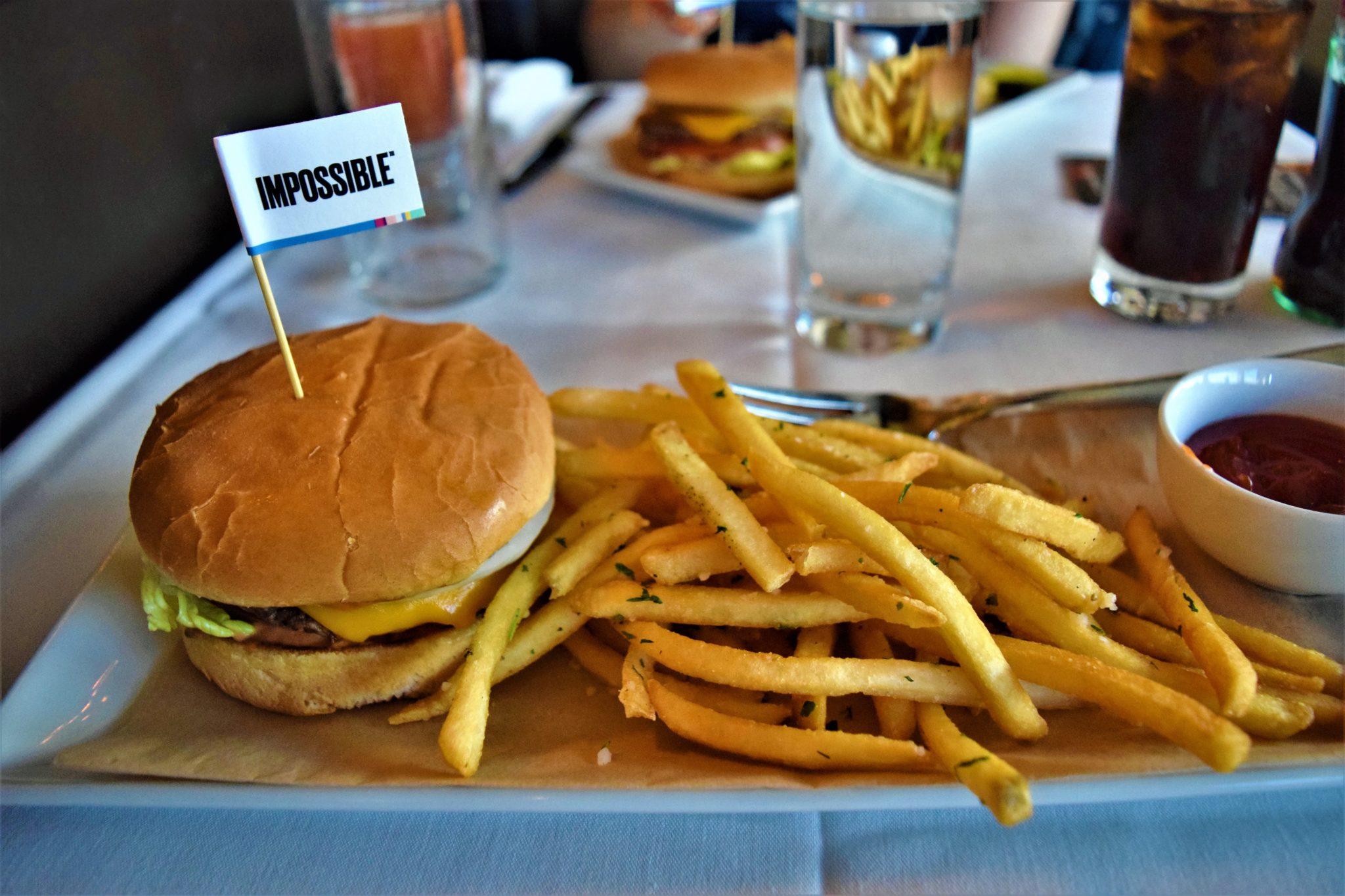 Impossible burger, Croosroads vegan kitchen, los angeles