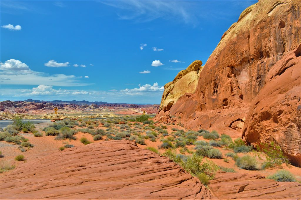 Landscape at the Valley of Fire State Park, Utah