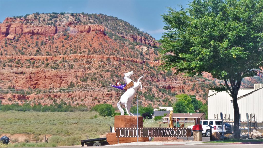 Little Hollywood outside Grand Canyon North Rim National Park