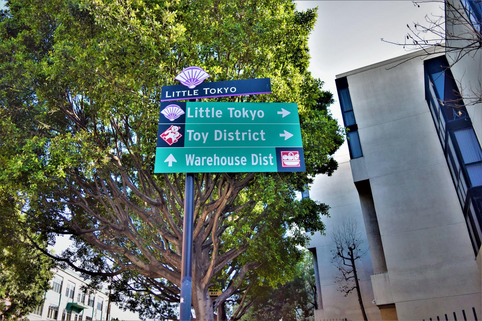Little Tokyo Sign, Los Angeles, California