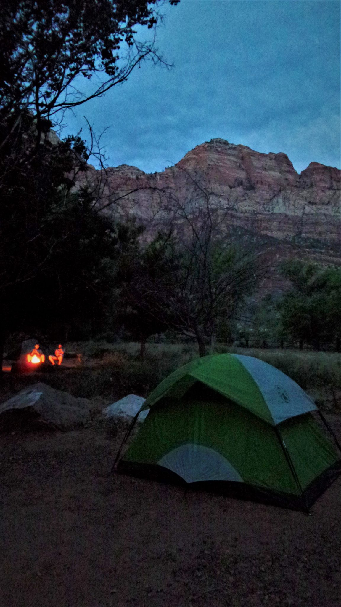 Night camping at Zion National Park, Utah | Round the ...
