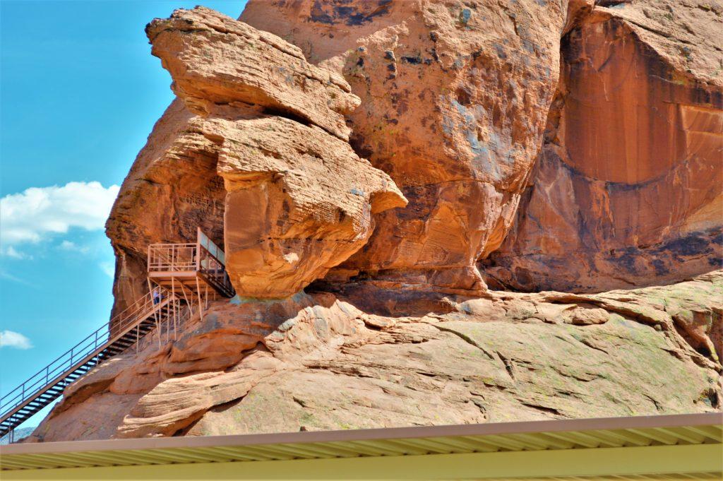 Observation deck, valley of fire state park, utah