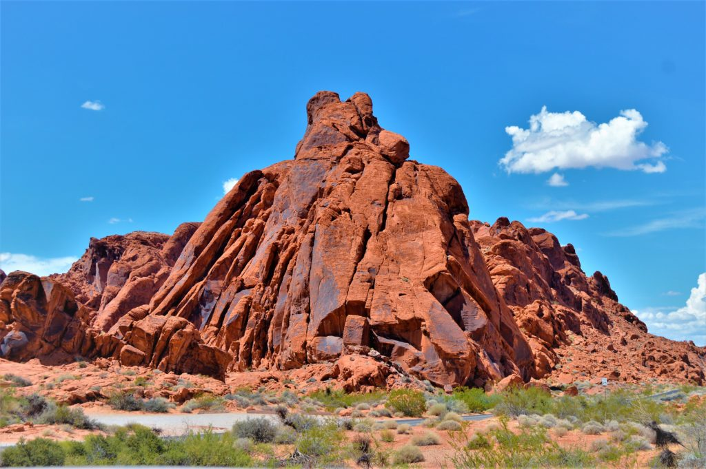 muddy mountains at the valley of fire state park, utah