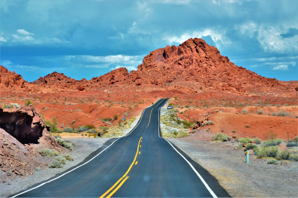 Road trip valley of fire state park