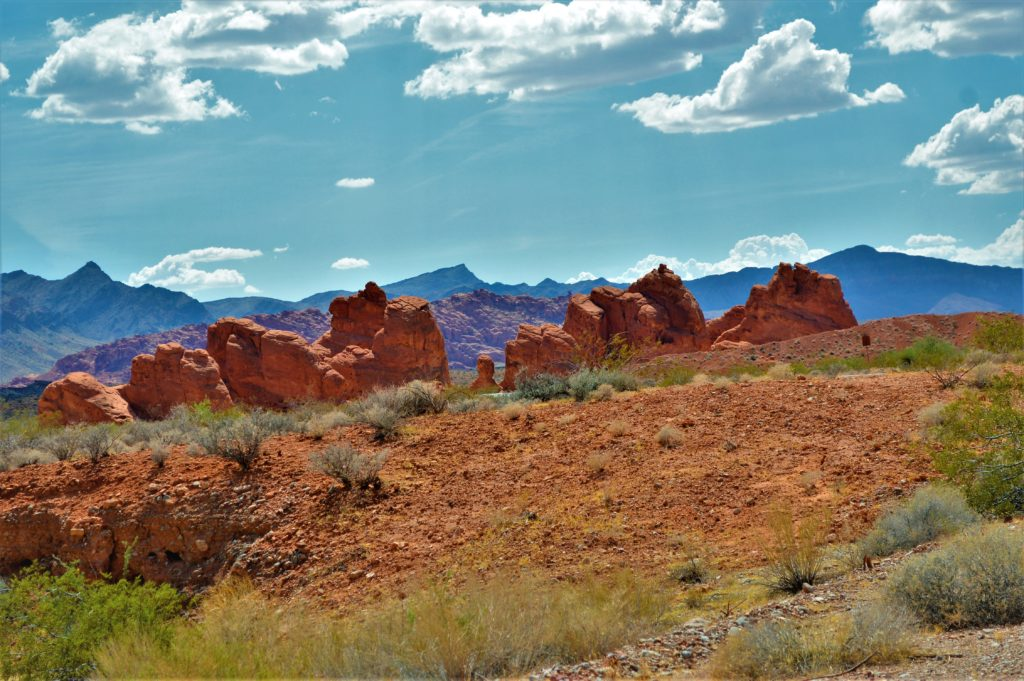 Rocks at valley of fire state park, utah