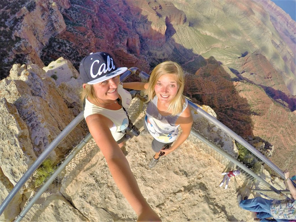 Selfie at Grand Canyon North Rim View Point