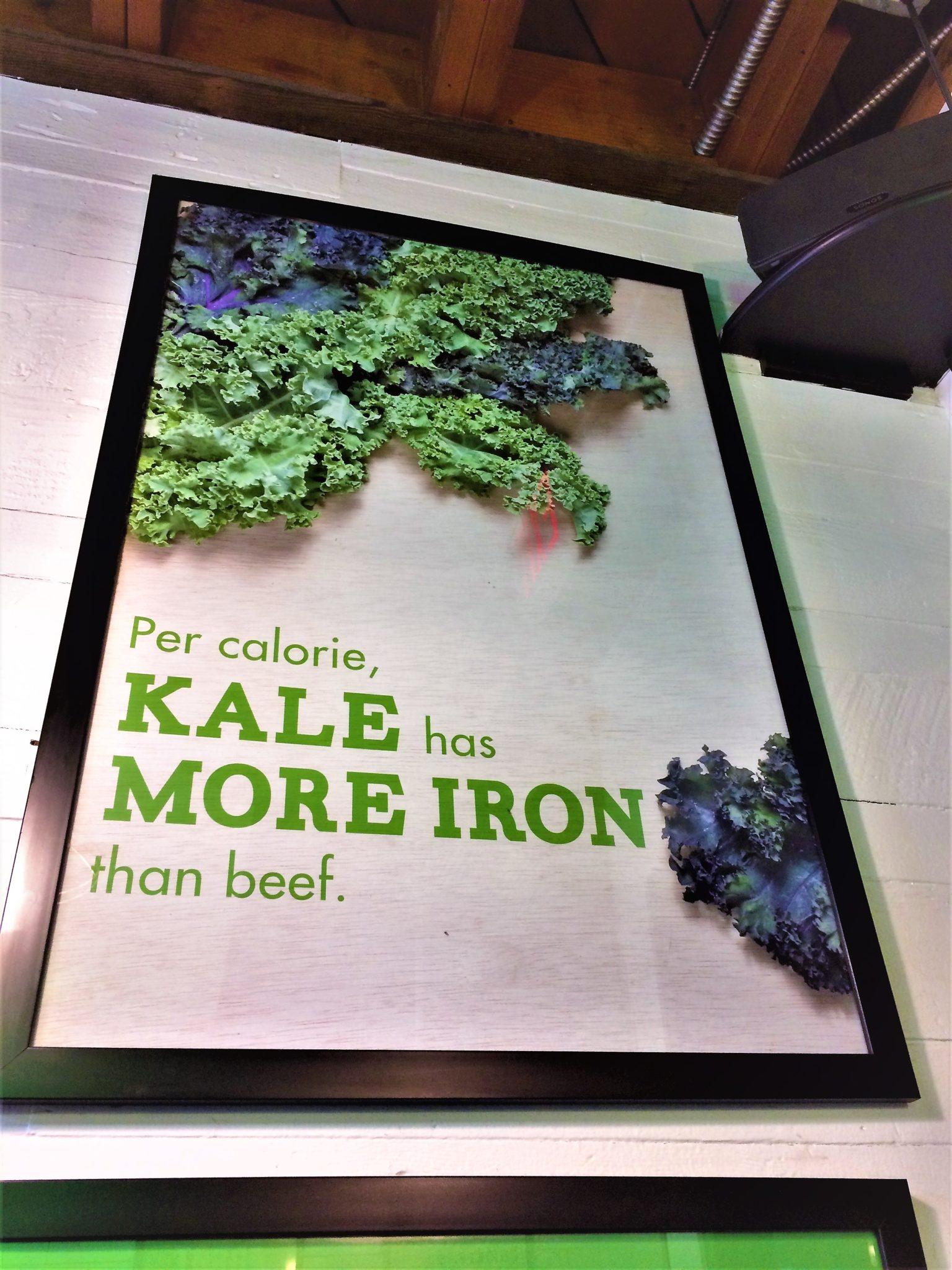 Shop signs, Fala Bar, vegan Los Angeles