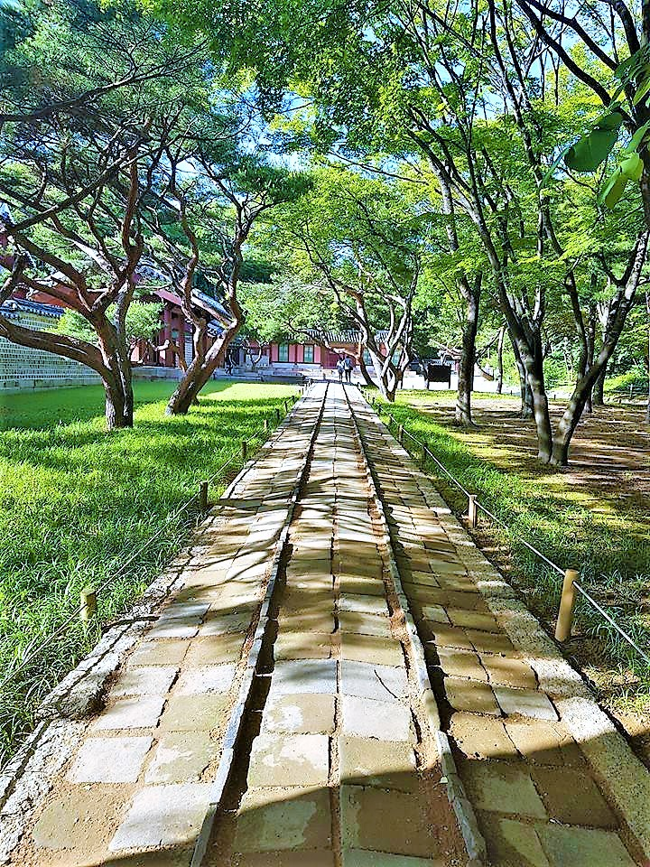 South Korea palace gardens