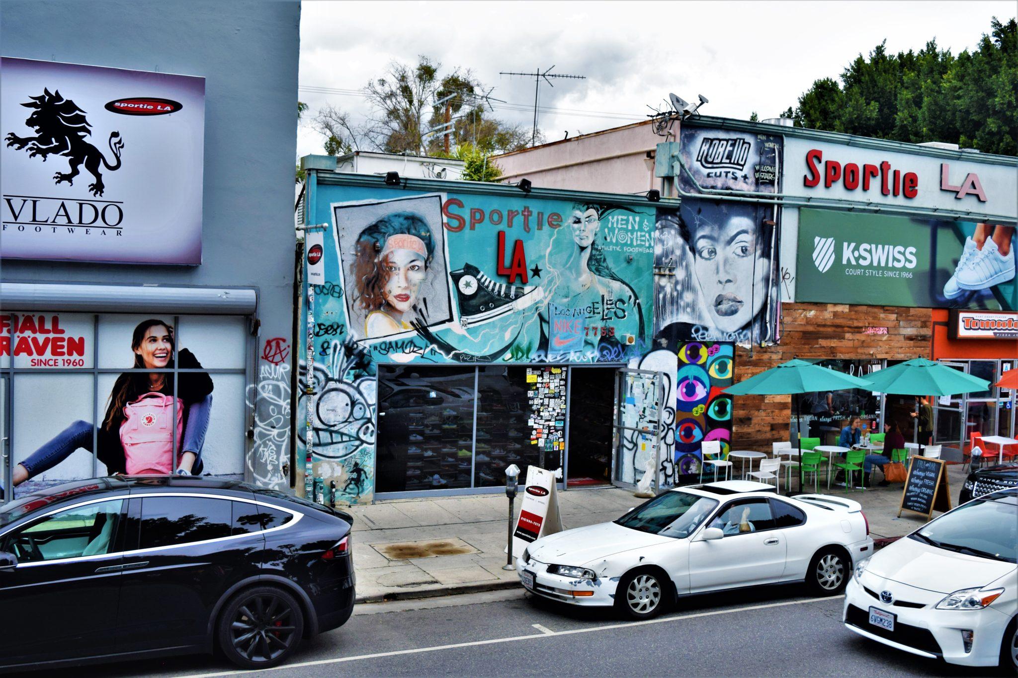 Sportie LA, Melrose Avenue, free things to do in los angeles