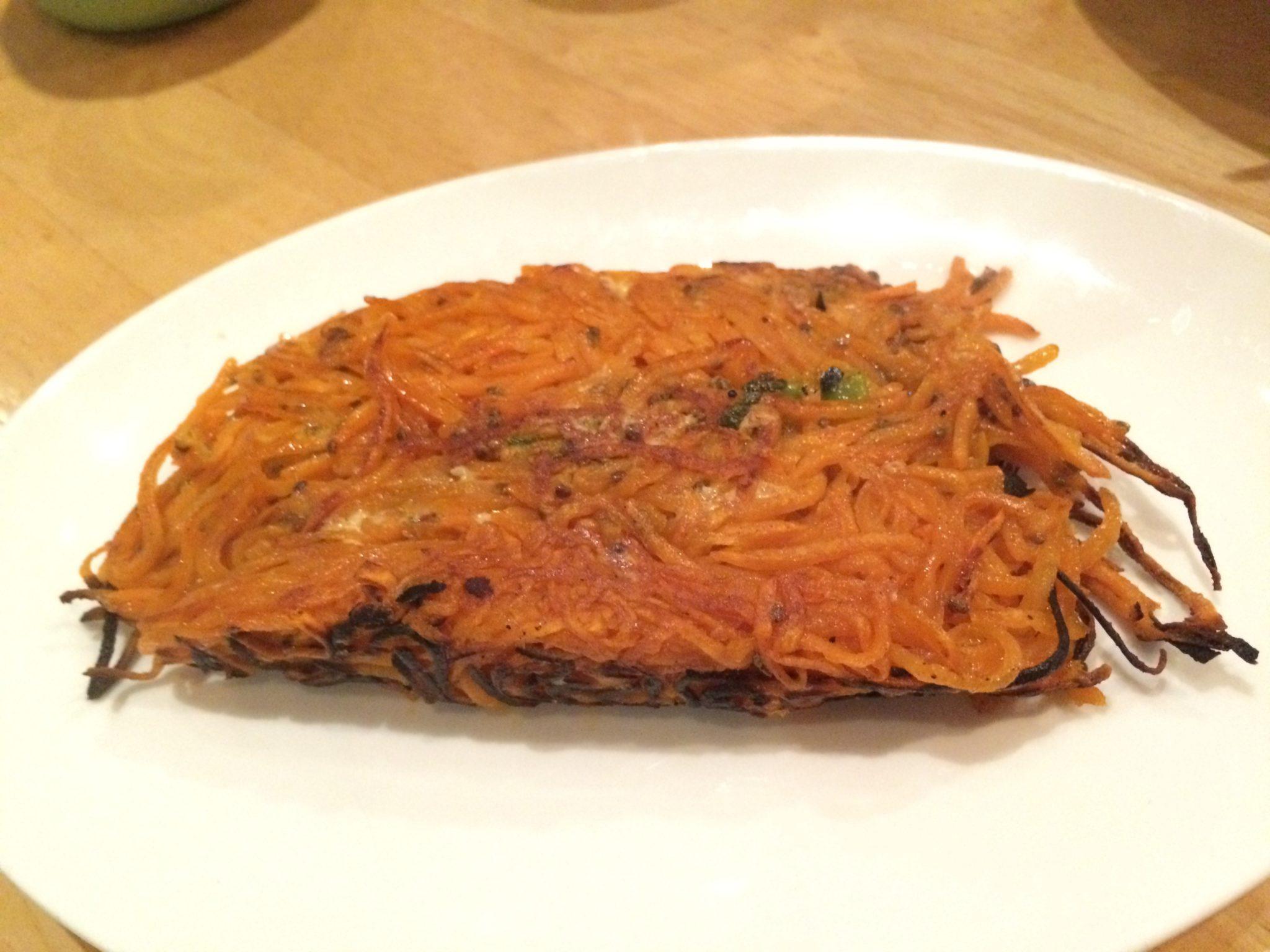 Sweet Potato Hash, Tocaya Organica, Los Angeles, vegan