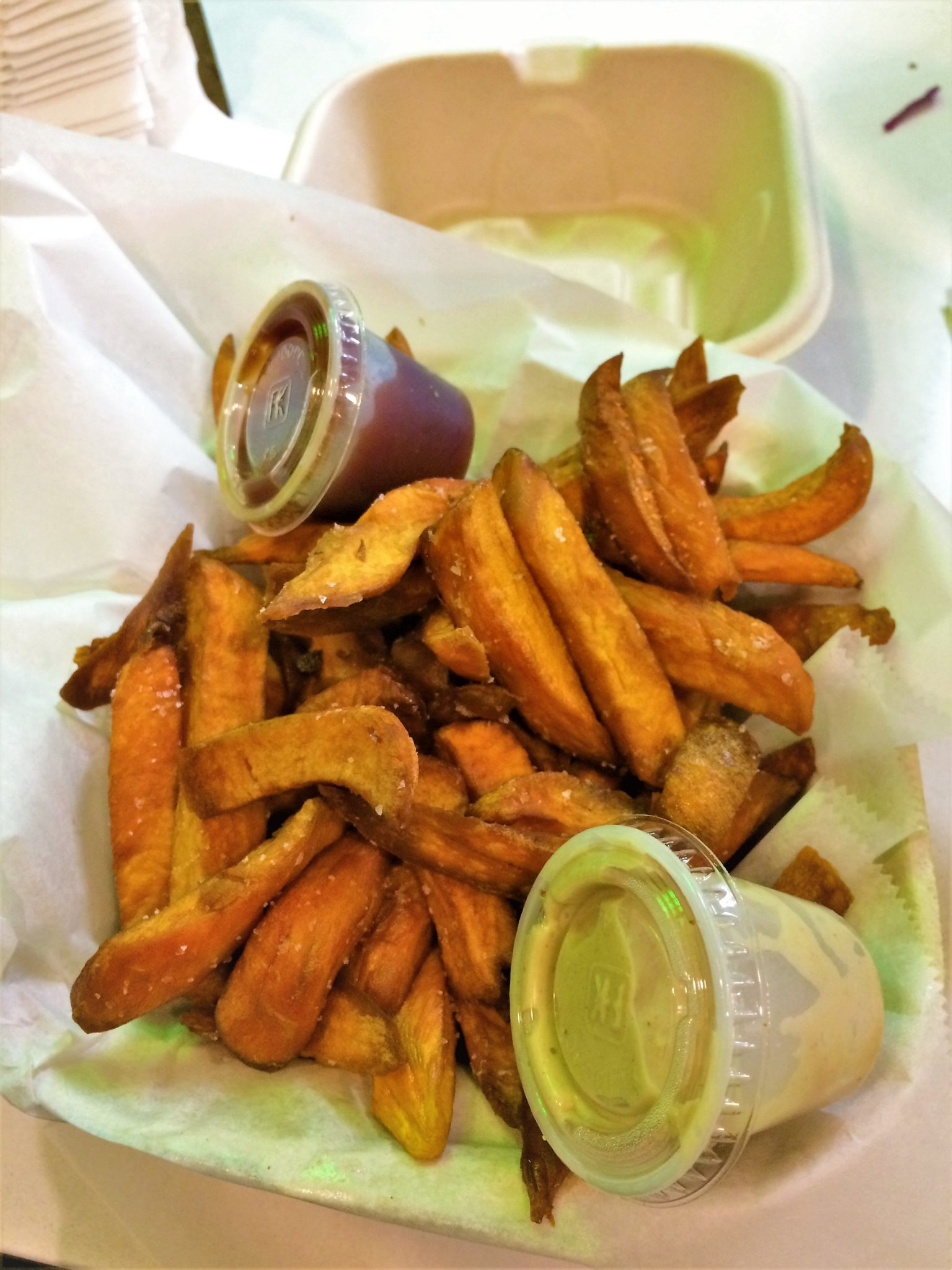 Sweet potato fries from Fala Bar, los angeles