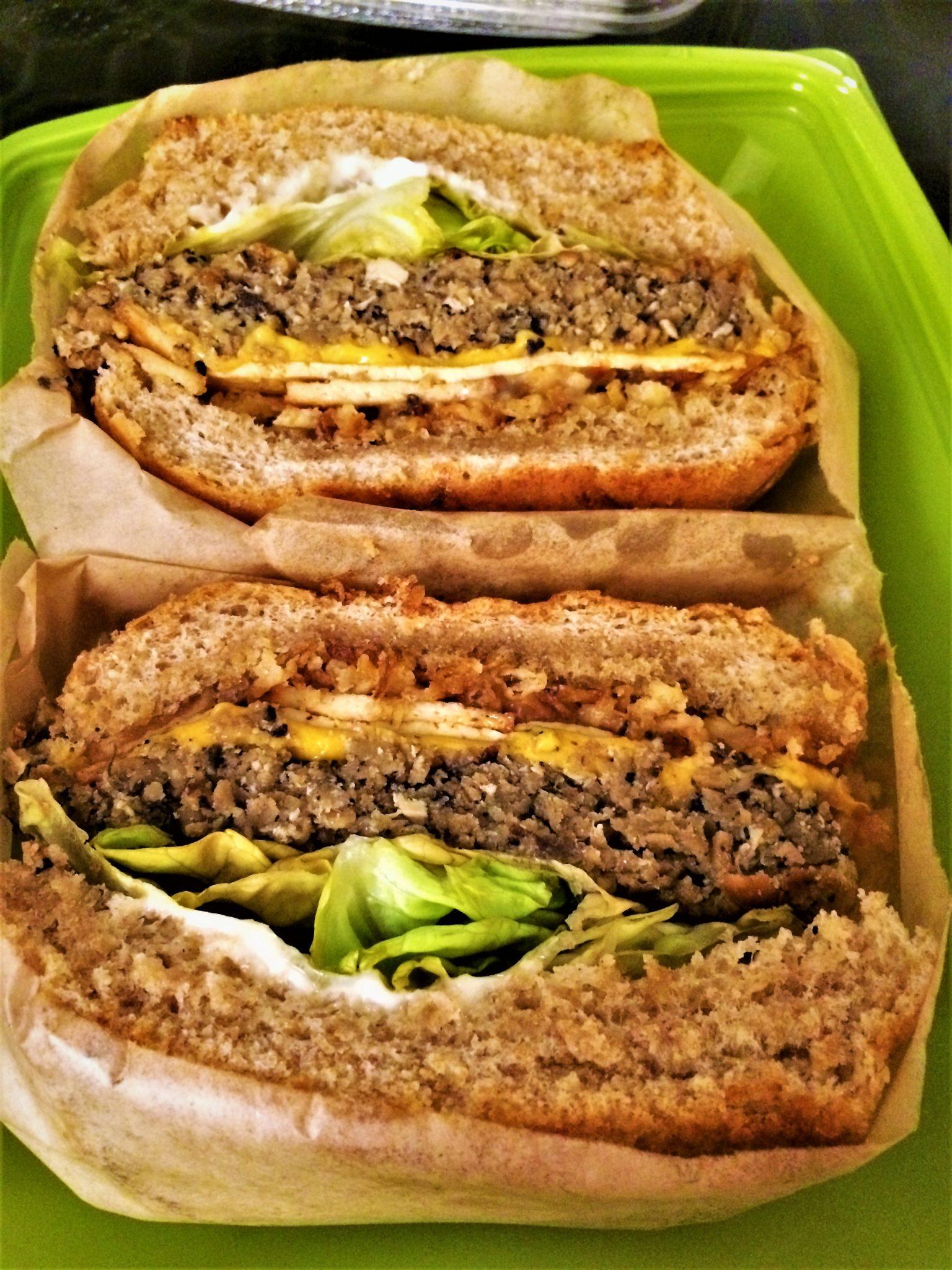 Take away vegan sandwich, Native Food Café , Palm Springs, California