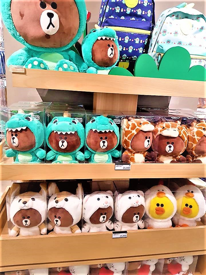 Teddy store in South Korea