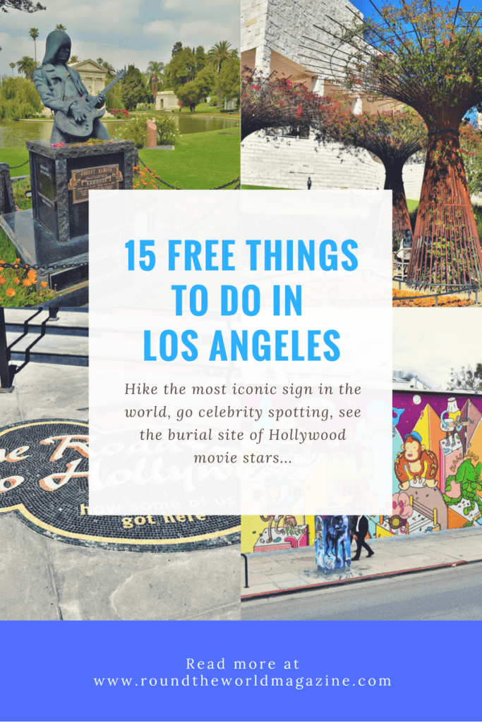 Top 15 free things to do in los angeles