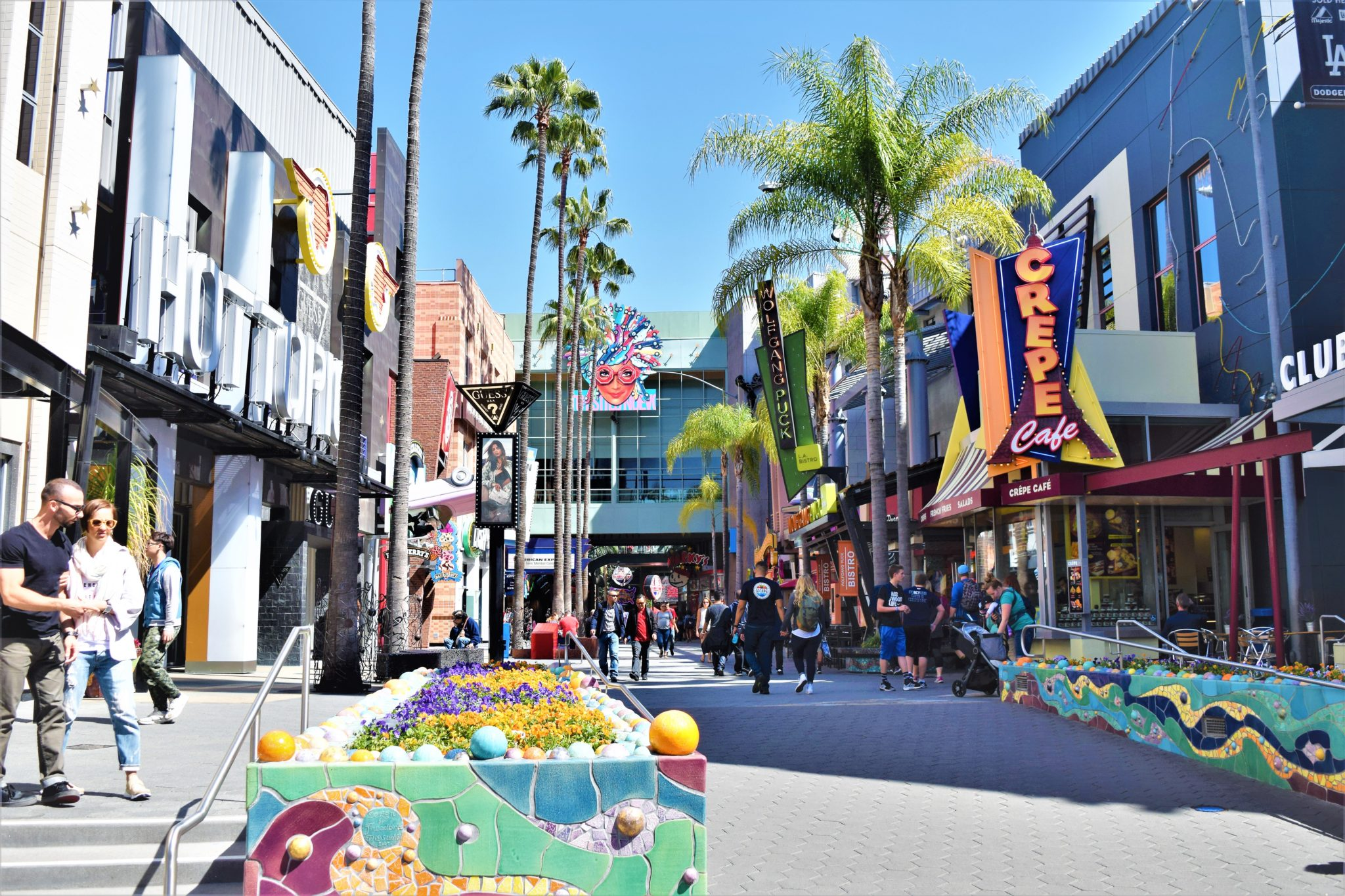 Universal city walk is a top free thing to do in los angeles