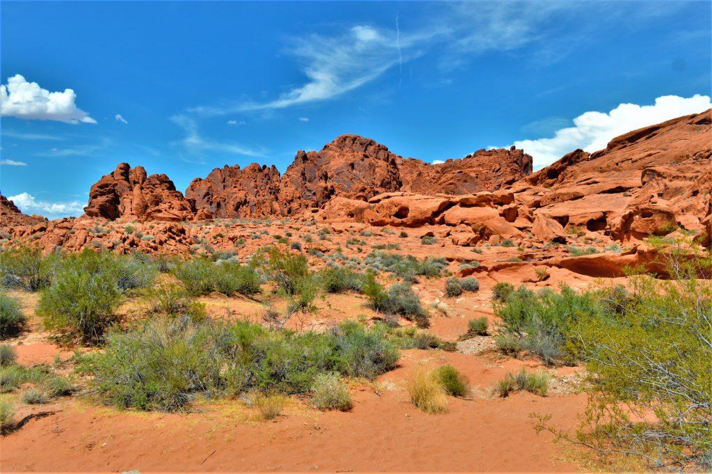 Valley of fire state park terrain, utah